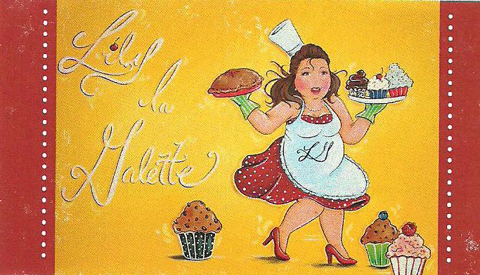 LOGO LILY LA gALETTE